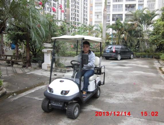 移动风景新型老年代步车点亮凤凰城高清图片