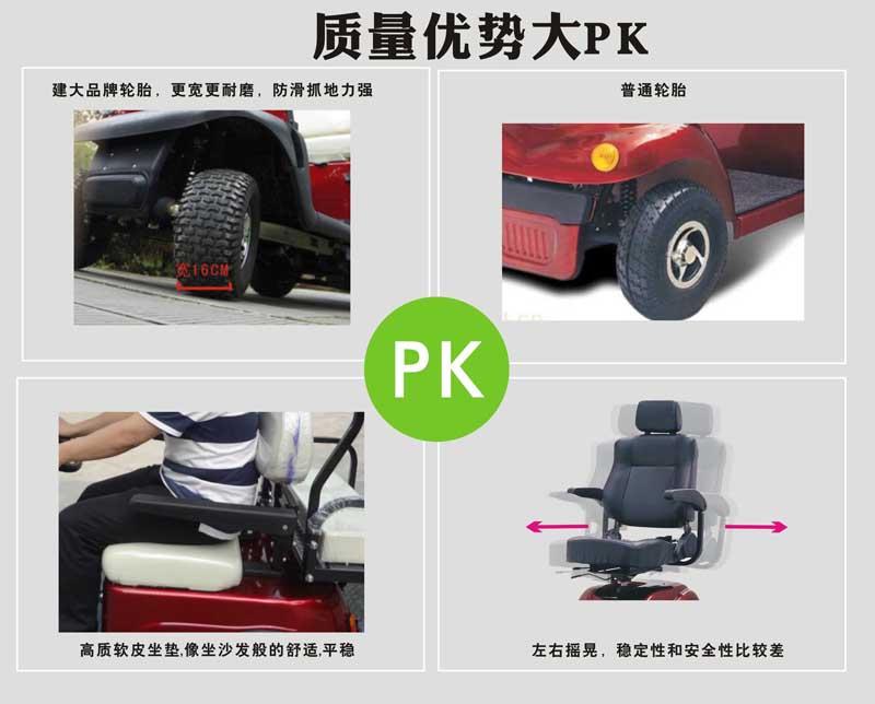 老年电动代步车高清图片