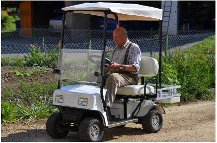 四轮老年代步车电动车   仅需   元,让你的父母,你的家人享高清图片